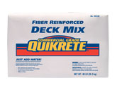 Fiber-Reinforced Deck Mix