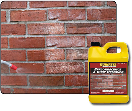Efflorescence Amp Rust Remover Quikrete Cement And
