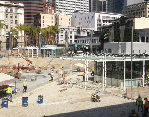 QUIKRETE Project Profile - Horton Plaza Park